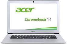 Acer Chromebook 14 NX.GC2EG.002 notebook o przekątnej ekranu 35,6 cm (14), procesor Intel Celeron N3050, 2 GB RAM, 32 GB HDD, Chrome, kolor: błyszczący srebrny, srebro NX.GC2EG.001