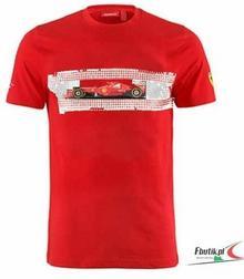 Ferrari F1 Koszulka Mens Graphic Tee - Red