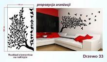 Naklejka Drzewa nr 33 format 200x120cm