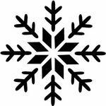 Opinie o Szabloneria Szablon malarski śnieżynka 2 do malowania farbą, sztucznym śniegiem, brokatem