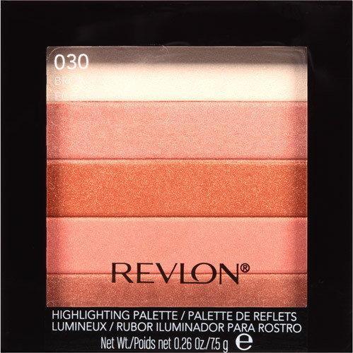 Revlon Highlighting Palette paletka rozświetlająca 030 brązujący glow 7.5g