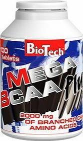 BioTech Mega BCAA Plus 100 tab.