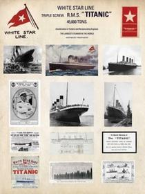 Titanic (Collage) - Obraz, reprodukcja