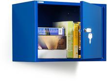 AJ Niebieska szafka na dokumenty W380xS550xG340mm