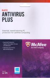 McAfee Anti-Virus Plus Activation Card INTEL licencja na rok ESD