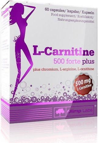 Olimp L-karnityna 500 Forte Plus 80 kap./500mg