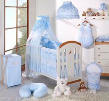 Mamo-Tato Falbanka do kolekcji śpiący miś w błękicie