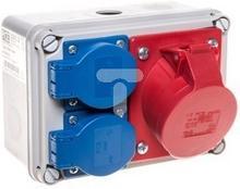 PCE Zestaw gniazd 16/5 2GS IP44 M20 9769116W PCE 0002-00001-76939