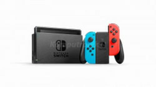 NintendoSwitch Niebiesko-Czerwony