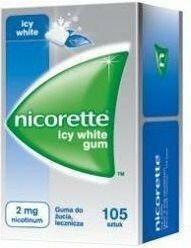 McNeil Nicorette Icy White Gum 2mg 105 szt.
