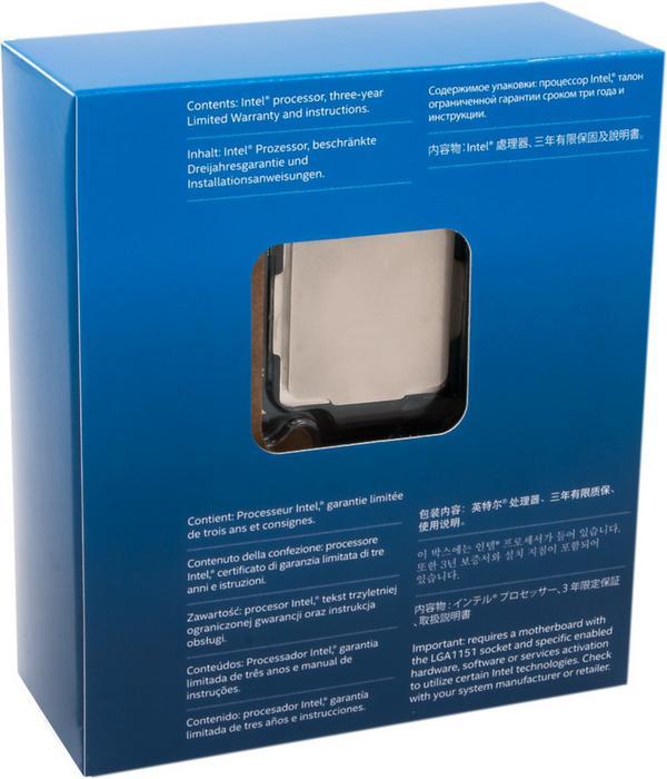Intel Core i7 7700K 4,2 GHz