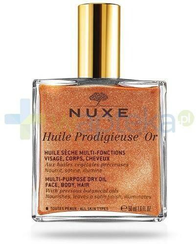 NUXE POLSKA SP. Z O.O. Nuxe Huile Prodigieuse OR suchy olejek z drobinkami złota do pielęgnacji twarzy, ciała i włosów 50 ml [Nowa formuła] 7068744