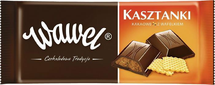 Wawel Czekolada Kasztanki 100g