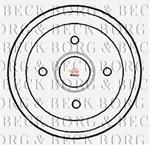 Opinie o BORG & BECK Bęben hamulcowy BBR7116