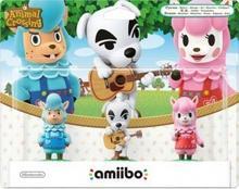 Nintendo Amiibo Animal Crossing 3-Pack: Reese/K.K./Cyrus NIFA0062