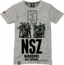 Koszulka T-shirt Red Is Bad NSZ
