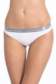 Calvin Klein Underwear stringi Thong biały 000QD3539E