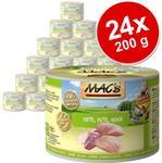 MACs Megapakiet MAC´s Cat karma dla kota 24 x 200 g Kitten
