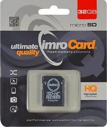 IMRO microSDHC Class 10 32GB + adapter
