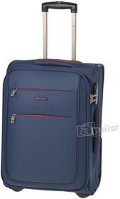Puccini Camerino walizka kabinowa Ryanair EM-50307 C 7 niebieski zamek szyfrowy