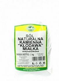 Smakosz Sól naturalna kamienna KŁODAWA miałka niejodowana 1kg