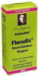 Salus Floradix Żelazo i Kwas foliowy 84 szt.