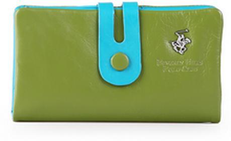 Beverly Hills Polo Club portfel damski skóra Utah BH-284 Verde