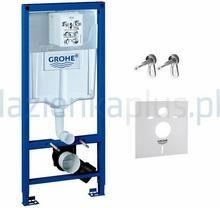Grohe Stelaż podtynkowy do WC z kątownikami i uszczelką Rapid SL 38539 001