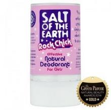 Salt of the Earth Naturalny, bezpieczny dezodorant w sztyfcie dla dziewcząt - Salt of the Earth 2794-0