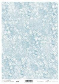 ITD Papier do scrapbookingu 250g A4 - 034 śnieżynk