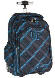 d705e8deb22a6 -27% Patio CoolPack Junior Plecak Szkolny Na Kółkach 34L Scotish Blue  51378CP