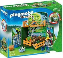 Playmobil 6158 Country - Box z zagrodą leśnych zwierząt