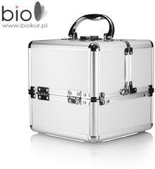 Neonail kuferek kosmetyczny kostka - srebrny -