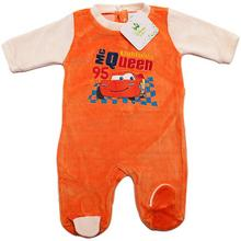 Disney Pajac dla niemowlaka Cars. Pomarańczowy