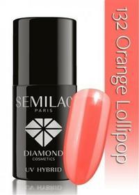 Semilac Lakier Hybrydowy 132 Orange Lollipop