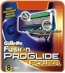 Gillette Fusion Proglide Power wkłady do maszynki 8 szt