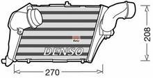Denso Chłodnica powietrza doładowującego - intercooler DIT02012