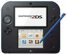 Nintendo 2DS Czarno-Niebieski + Mario Kart 7