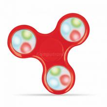 Setty Setty LED Hand Fidget Spinner czerwony GSM029018