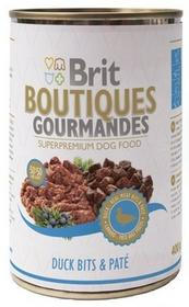 Brit Boutiques Gourmandes Duck Bits & Paté - Kaczka Z Pasztetem 400G