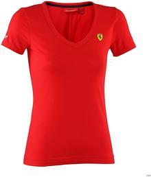 Ferrari F1 Koszulka damska V-neck Tee - Red 3