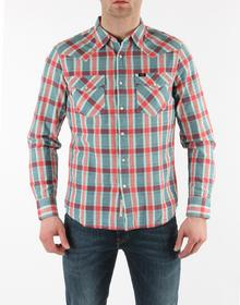 Lee Koszula Męska R 643IEKY Western Shirt Slim Fit