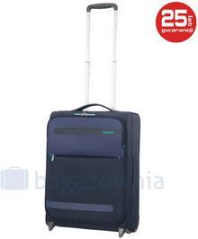 Samsonite AT by Mała kabinowa walizka AT HEROLITE 80370 Granatowa - granatowy