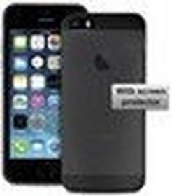 PURO Ultra Slim 0.3 mm etui + folia iPhone 5/5S blac IPC503BLK