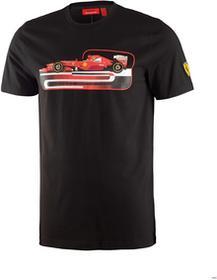 Ferrari F1 Koszulka Mens Graphic 2 Tee - Black