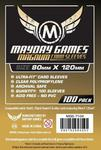 Mayday Games Koszulki Magnum Gold 80 x 120 mm - 100 sztuk