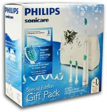 Philips Sonicare Easy Clean HX6511/33 - Szczoteczka soniczna z dodatkowymi końcó