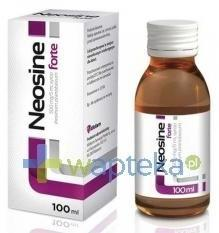 Aflofarm FARMACJA POLSKA SP. Z O.O. Neosine Forte syrop 0,5 g/5ml 100 ml 3042771
