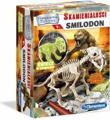 Clementoni Skamieniałości Smilodon Fluorescencyjny 60891