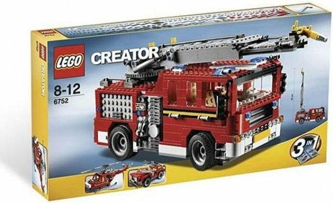 LEGO Creator Straż pożarna 3w1 6752